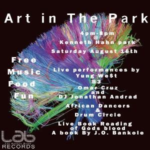 art in the park Flyer 1.3